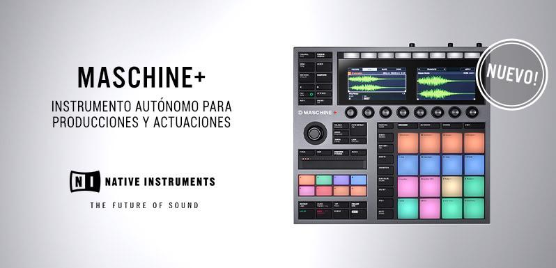 Maschine+ standalone de Native Instruments