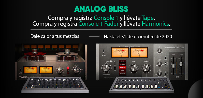 Promo Softube Analog Bliss