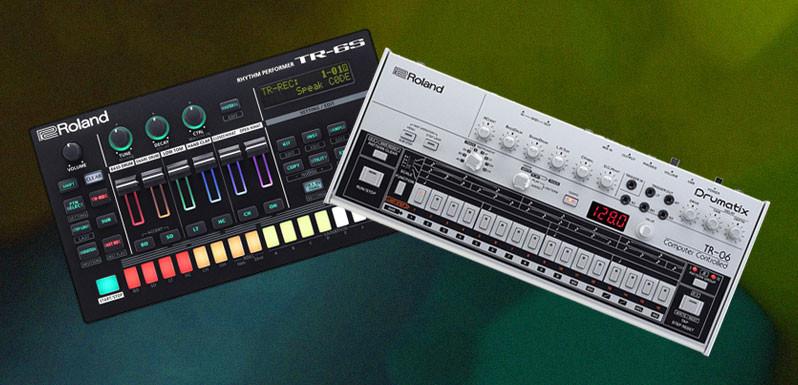 Roland presenta las nuevas TR 6S y TR 06