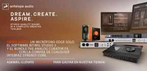 Promos de Antelope Audio hasta final de 2020