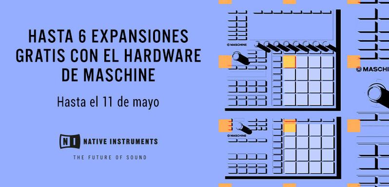 Maschine con hasta 6 expansiones gratis