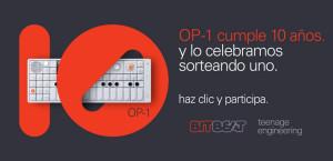 Gana un OP-1 para celebrar su décimo aniversario
