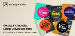 Promoción de Antelope Audio para mayo y junio 2021