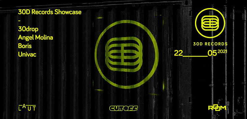 Cutoff colabora con el streaming de 30D Records
