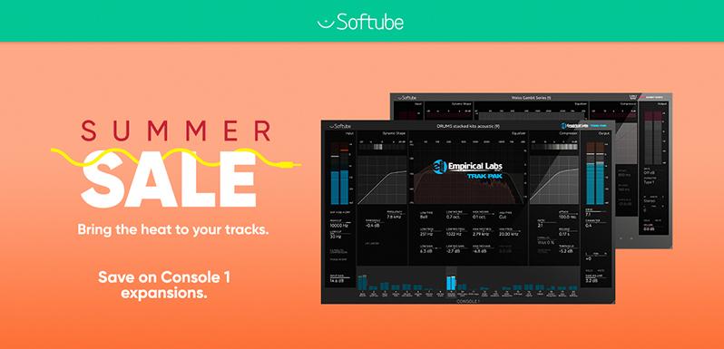 Promoción Softube Summer Sale