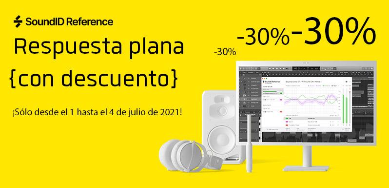 Ahorra un 30% en SoundID de Sonarworks