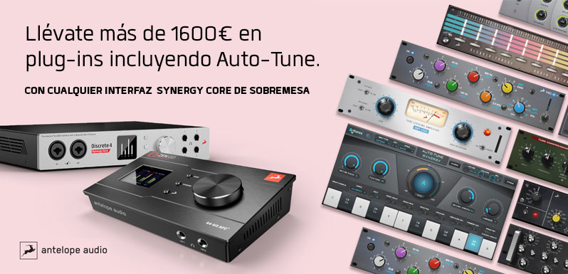 Nuevas promos de Antelope Audio para agosto y septiembre