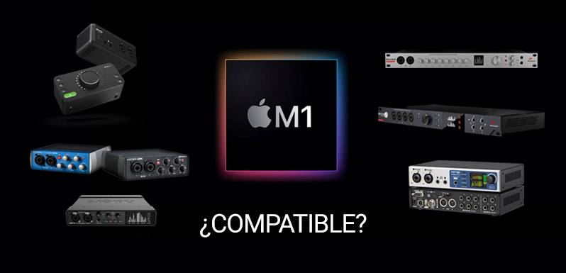 Interfaces audio compatibles M1