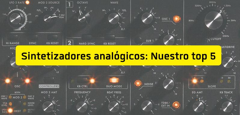 Los mejores sintetizadores analógicos