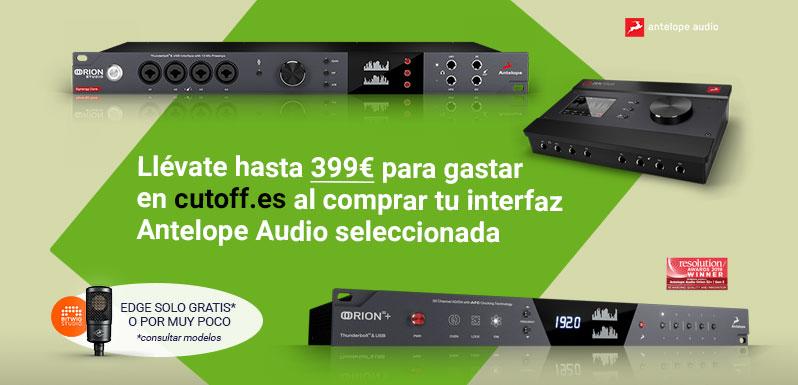 Nuevas promos de Antelope Audio para otoño 2021