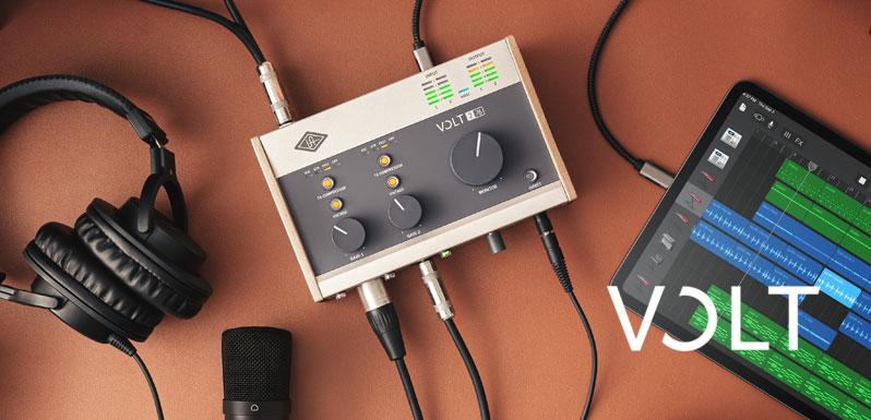 Universal Audio presenta las interfaces Volt