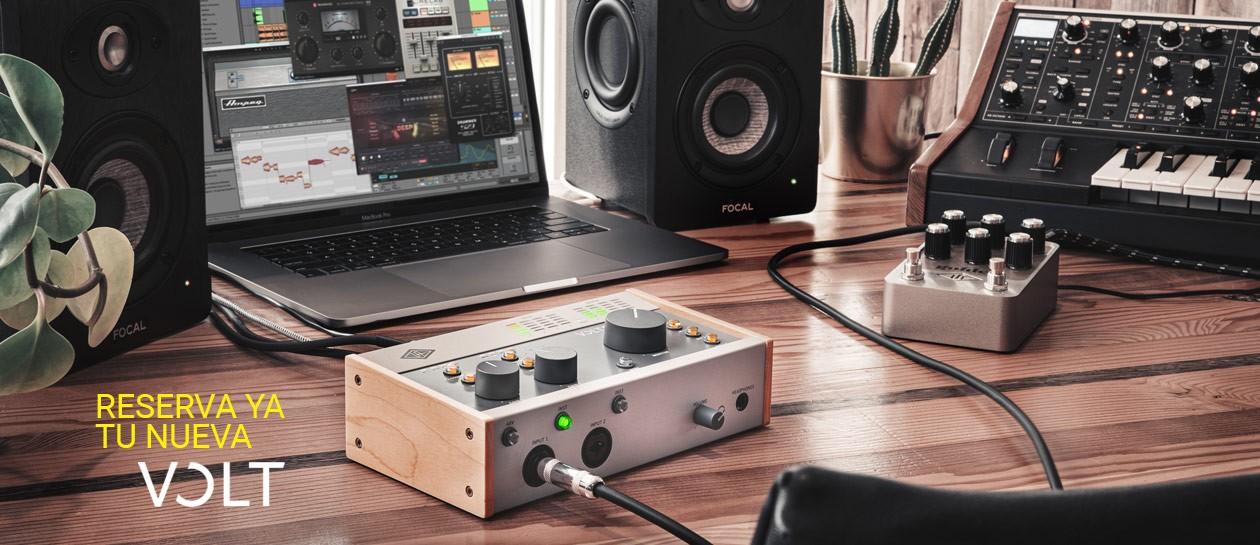 Universal Audio presenta las nuevas interfaces Volt