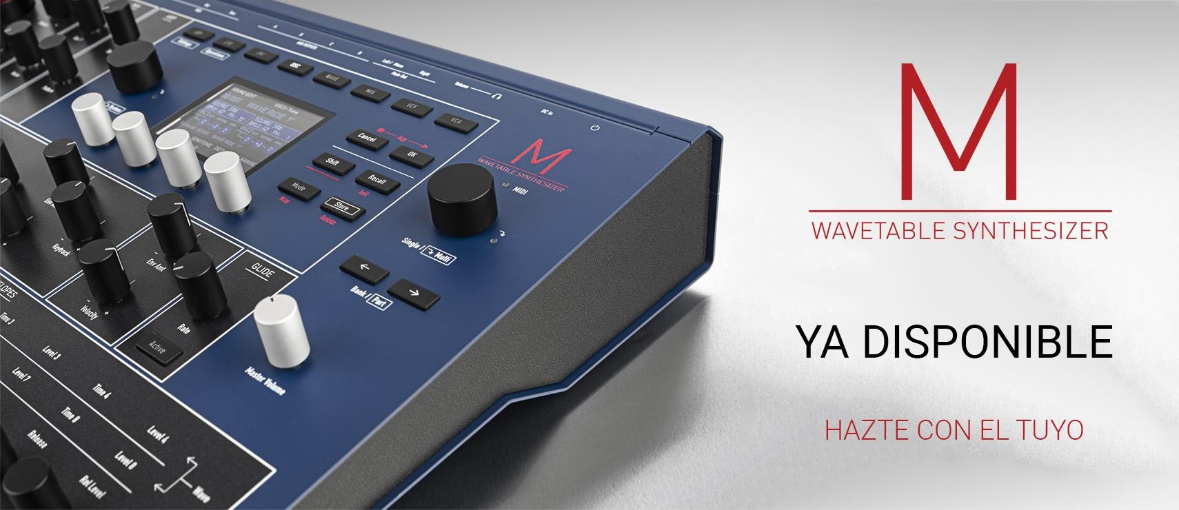 Waldor M Wavetable Synthesizer ya disponible